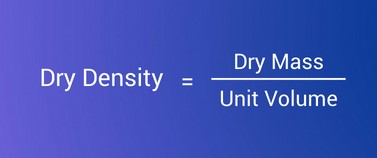 Density of cement formula