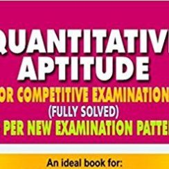 free Quantitative aptitude book