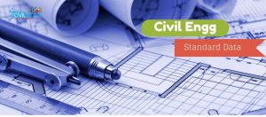 civil engg standard data values
