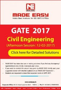 Gate Civil Engineering Made Easy Solved Paper (AN)