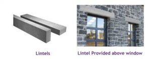 lintels on slabs