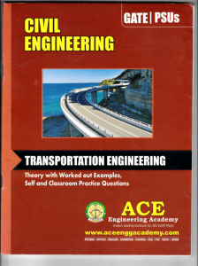 Download ACE Transportation Engineering book
