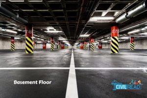 Types of floors :Basement floor