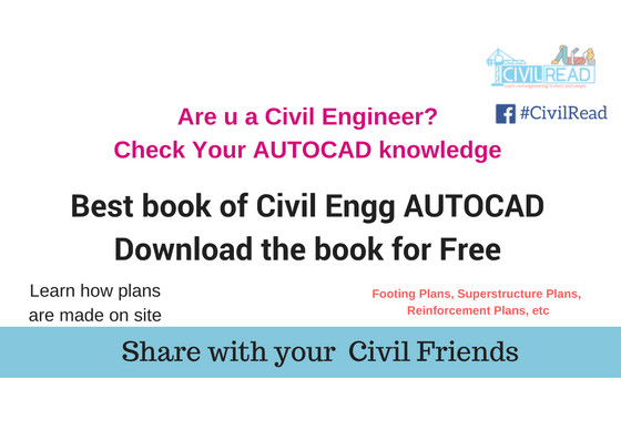Download AUTOCAD book for Civil engineering