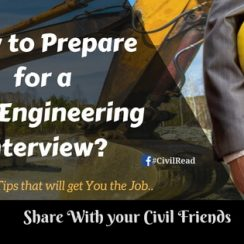 How to Prepare for a Civil Engineering Interview