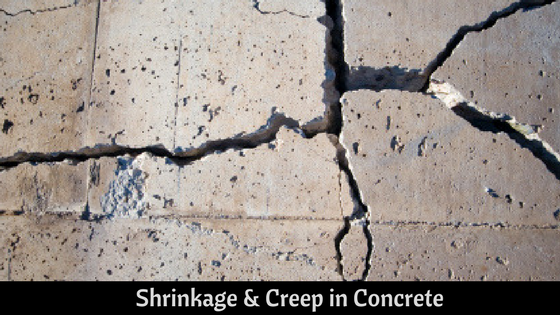 Shrinkage & Creep in Concrete