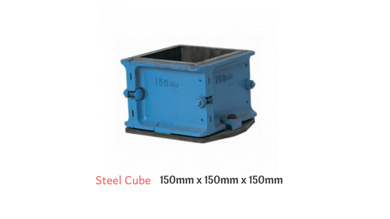 Steel cube for testing Compressive Strength of Concrete