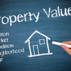 house valuation or property valuation