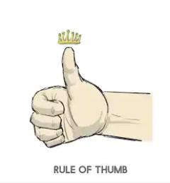 Thumb Rule