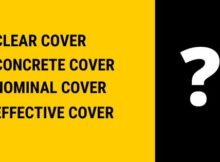 Clear, Nominal,Effective cover and Concrete Cover