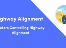 Factors Controlling Highway Alignment