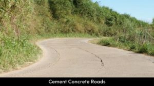 Cement Concrete roads