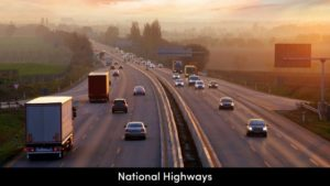Types of Roads - National Highways