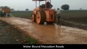 Types of Roads - Water Bound Macadam Roads