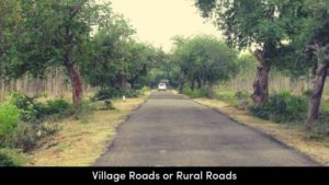 Village Roads or Rural Roads