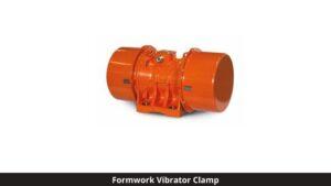 Formwork vibrator clamp (vibration of concrete)