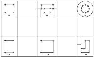 BBS Column Plan
