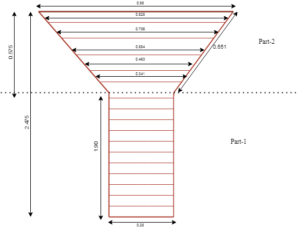 Longitudinal reinforcement of Y Shape Column