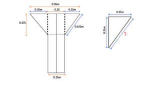 Y Shape Column Main reinforcement details